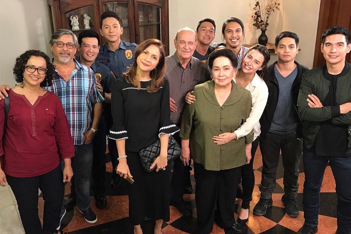 PHOTOS: Agot Isidro aka Verna with the cast of FPJ's Ang Probinsyano