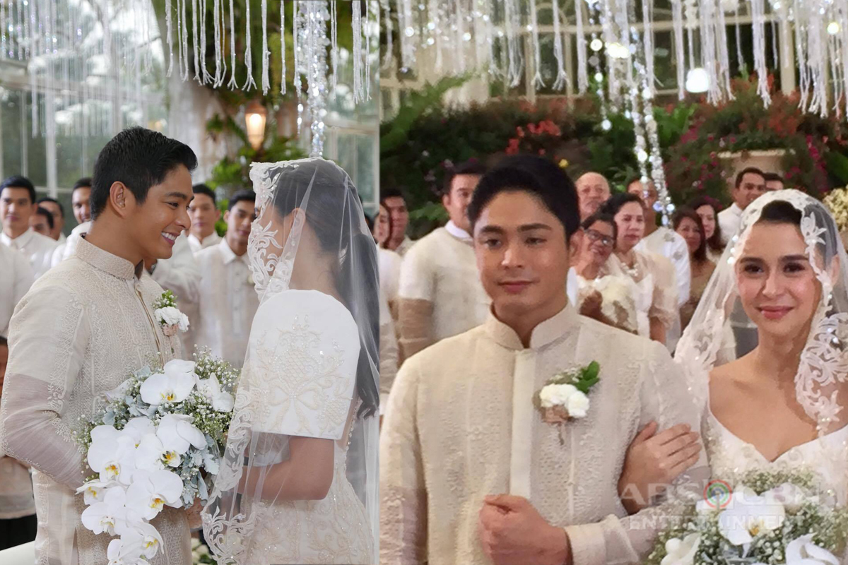 Behind The Scenes Photos: Cardo and Alyana Wedding