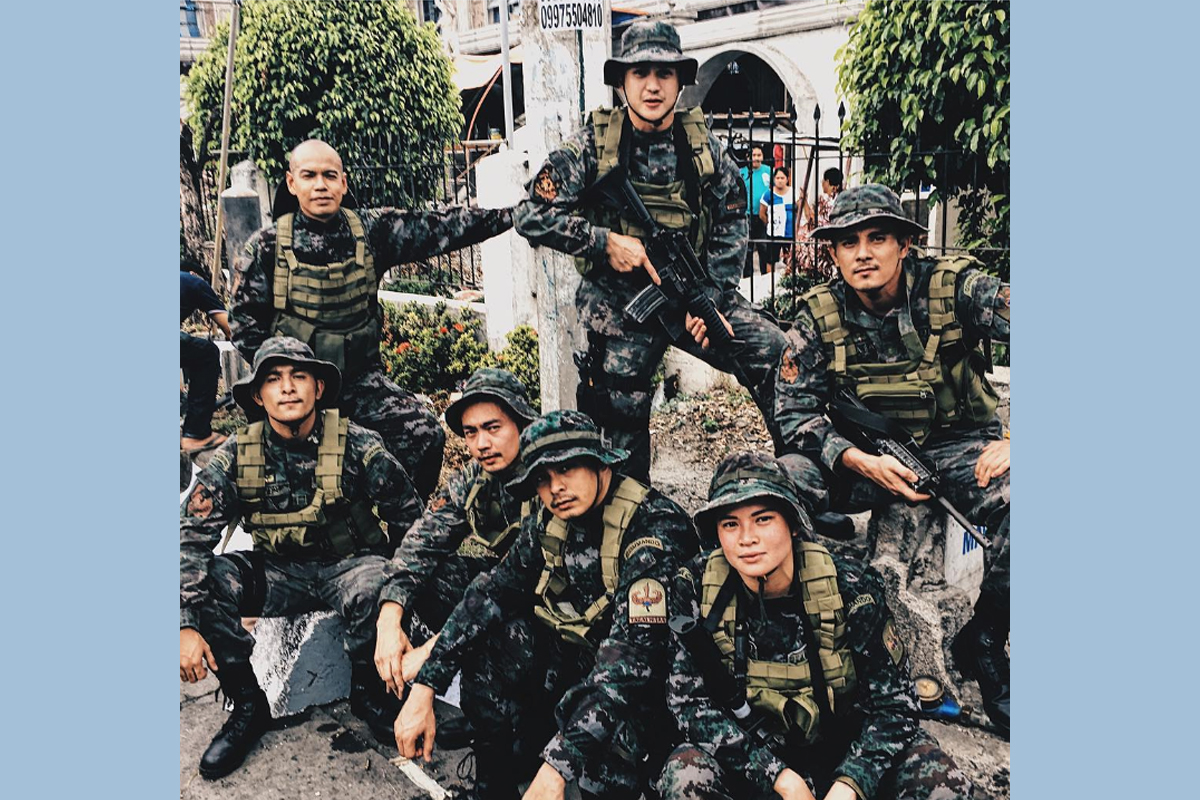 LOOK: FPJ's Ang Probinsyano's SAF officers in action