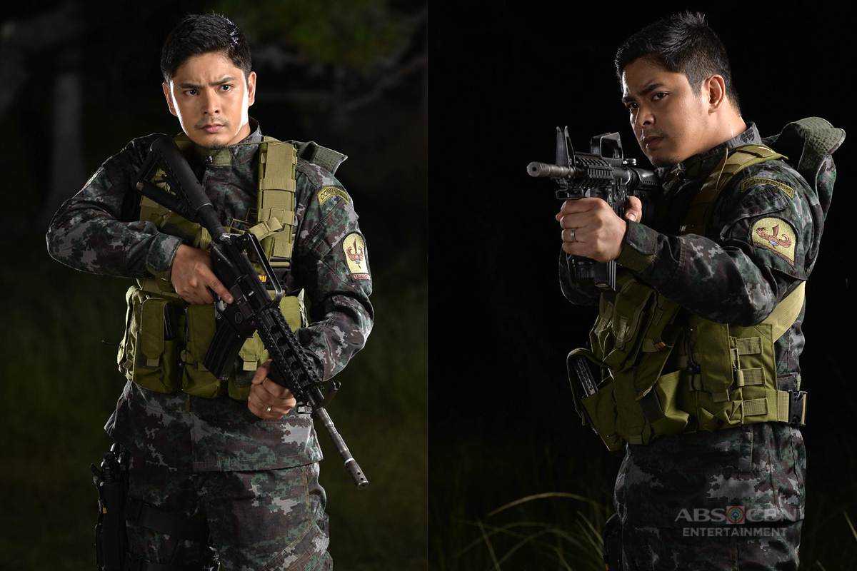 LOOK: Coco Martin in SAF Officer Uniform