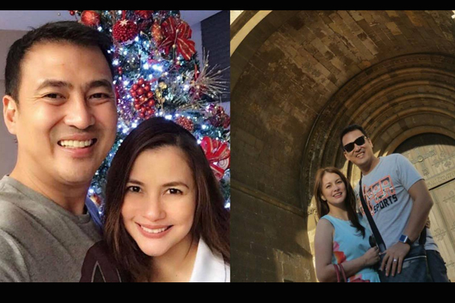 38 photos of Mark Lapid with his ex-girlfriend and partner for life