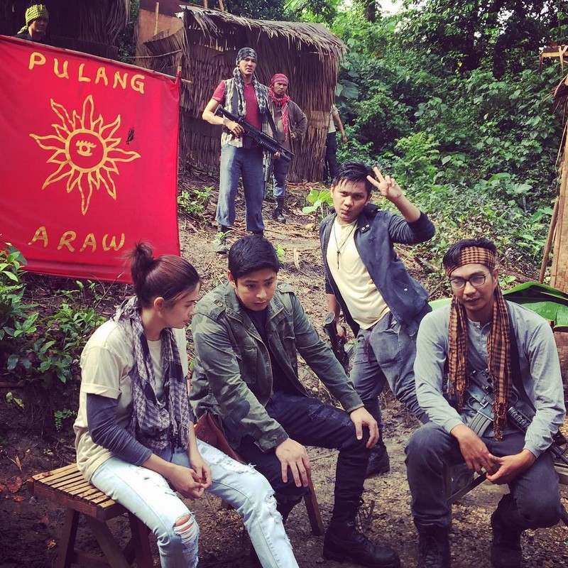 on the set of fpjs ang probinsyano what the members of