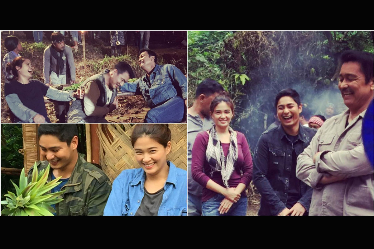 On the set of FPJ's Ang Probinsyano: What the members of Pulang Araw do in between takes