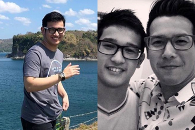 IN PHOTOS: John Prats with his equally good-looking brother!