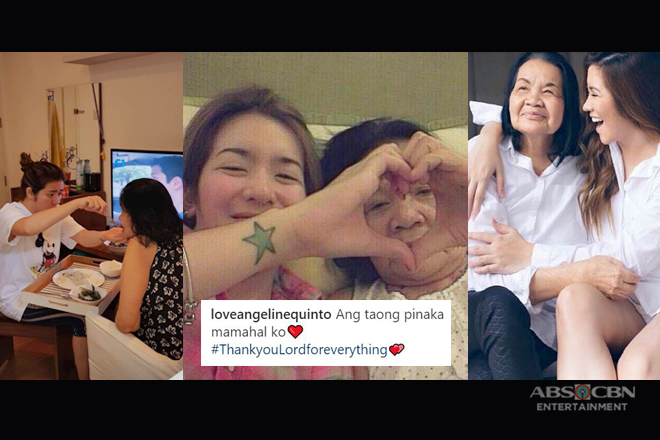 27 times Angeline Quinto showed her unconditional love for her Mama Bob