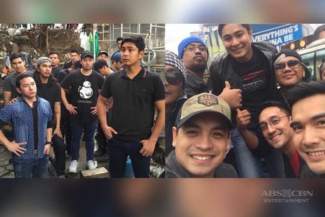 IN PHOTOS: Coco Martin with his on and off screen barkada!