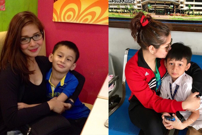 LOOK: Eda Nolan with her adorable little man!