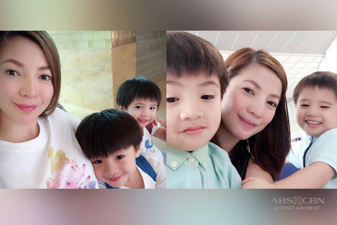 "LOOK: 29 Photos of Maui Taylor with her little ""kulit"" boys!"
