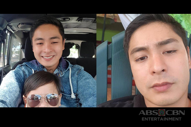 Selfie ni Idol! Rare off-cam moments of Coco Martin
