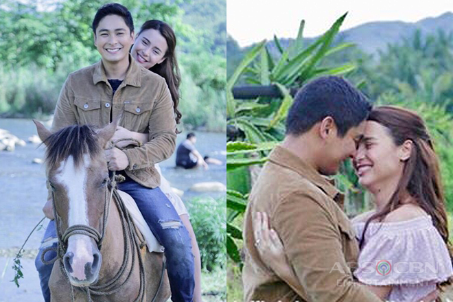 LOOK: 15 kilig CarYana moments on the set of FPJ's Ang Probinsyano