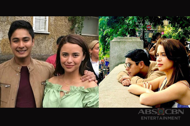 """LOOK: More """"kilig"""" stolen moments of CarYana in London!"""
