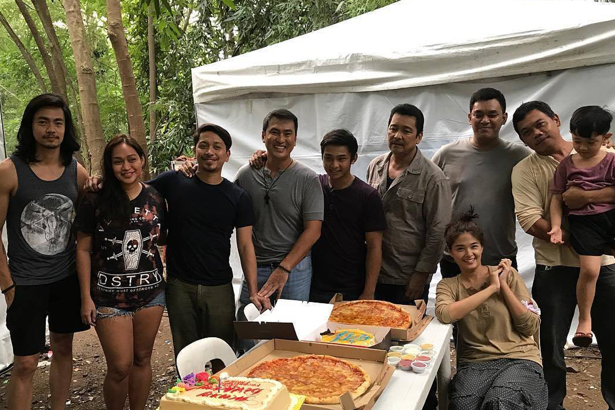 Ronwaldo Martin celebrates birthday with FPJ's Ang Probinsyano family