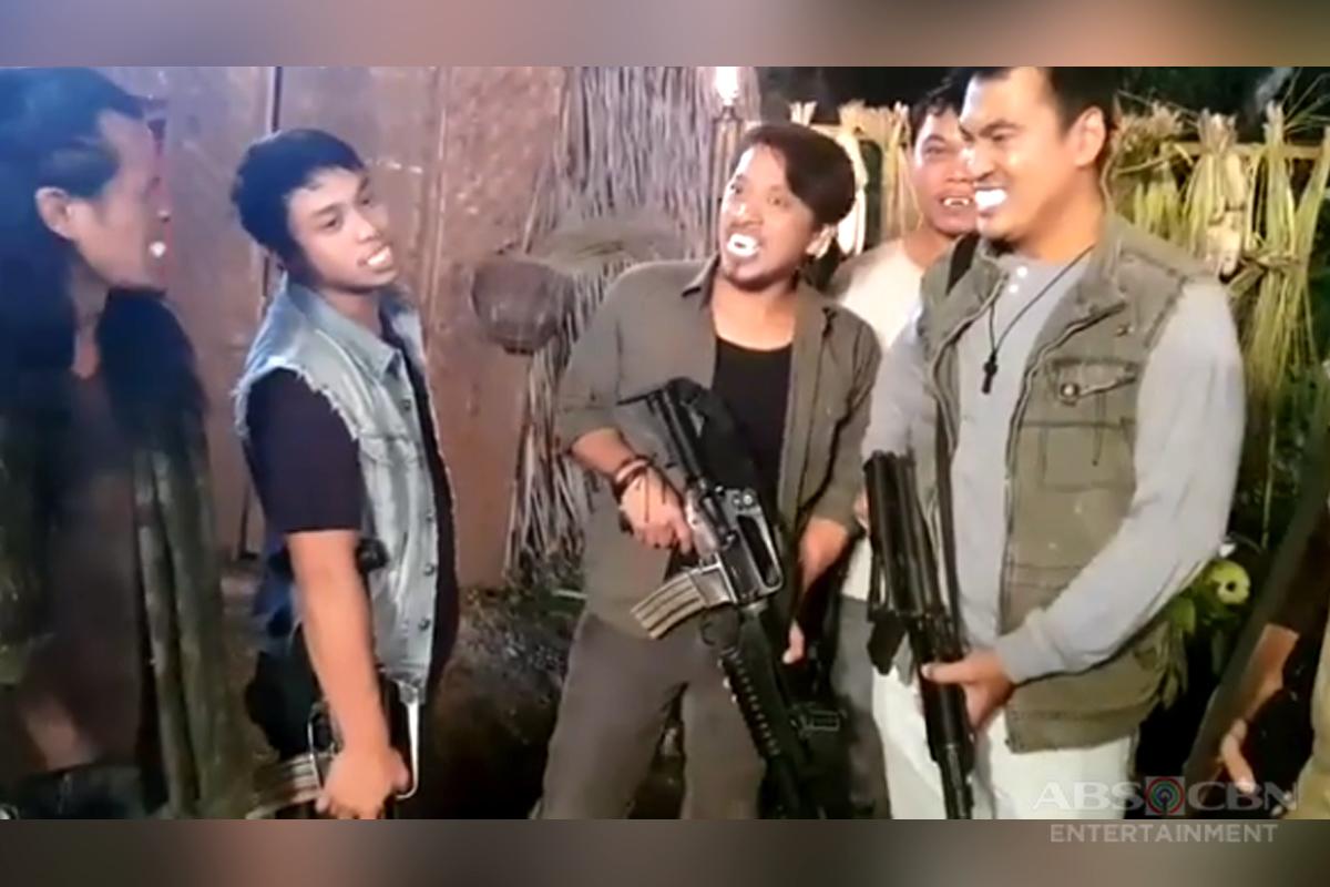 WATCH: Mga miyembro ng Pulang Araw, naging bampira sa set ng FPJ's Ang Probinsyano