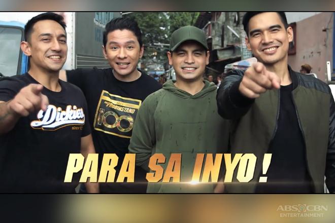 FPJ's Ang Probinsyano: Ang Munting Salo-Salo kasama sina John, Michael, Lester at Marc
