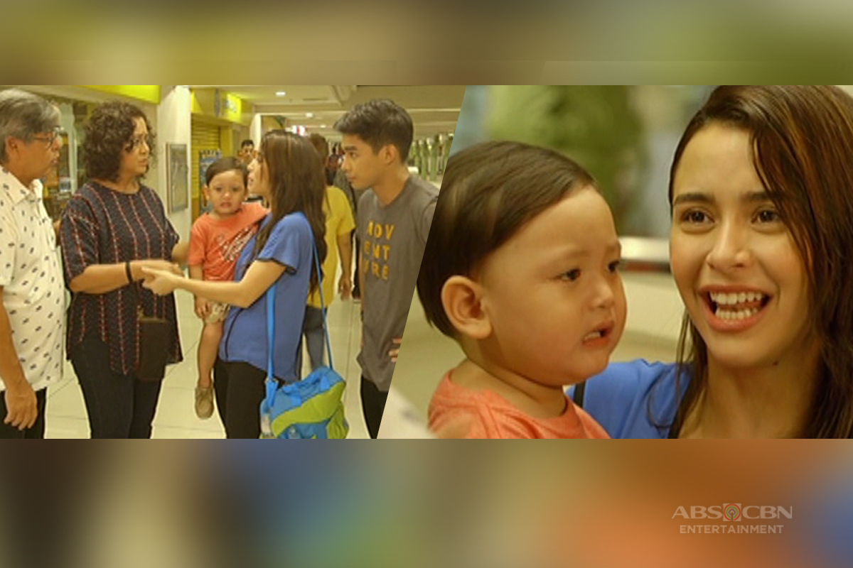 Alyana, masaya na nakasama ni Baby Ricky ang kanyang pamilya