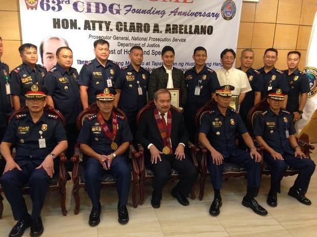 Coco Martin, ginawaran ng special citation sa 63rd CIDG Founding Anniversary