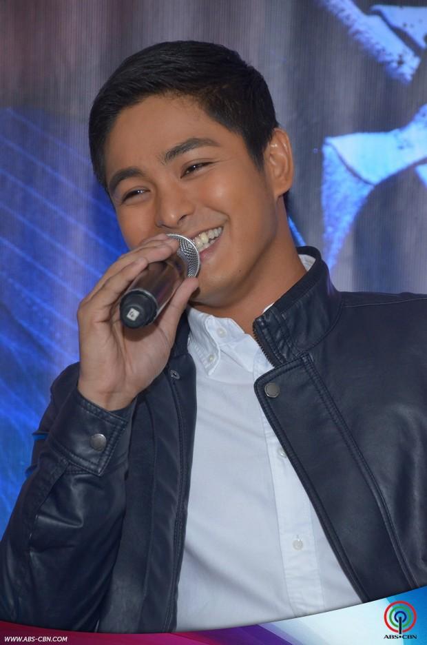 LOOK: Coco Martin all smiles at his solo presscon for FPJ's Ang Probinsiyano