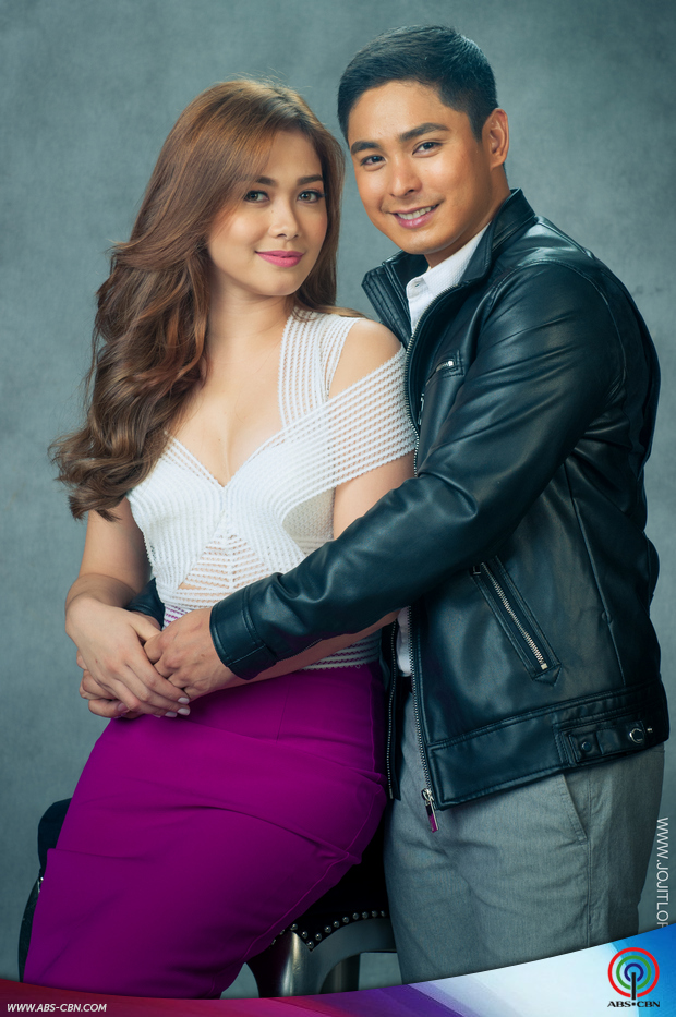 GLAM SHOTS: Coco Martin with Maja Salvador for FPJ's Ang Probinsyano