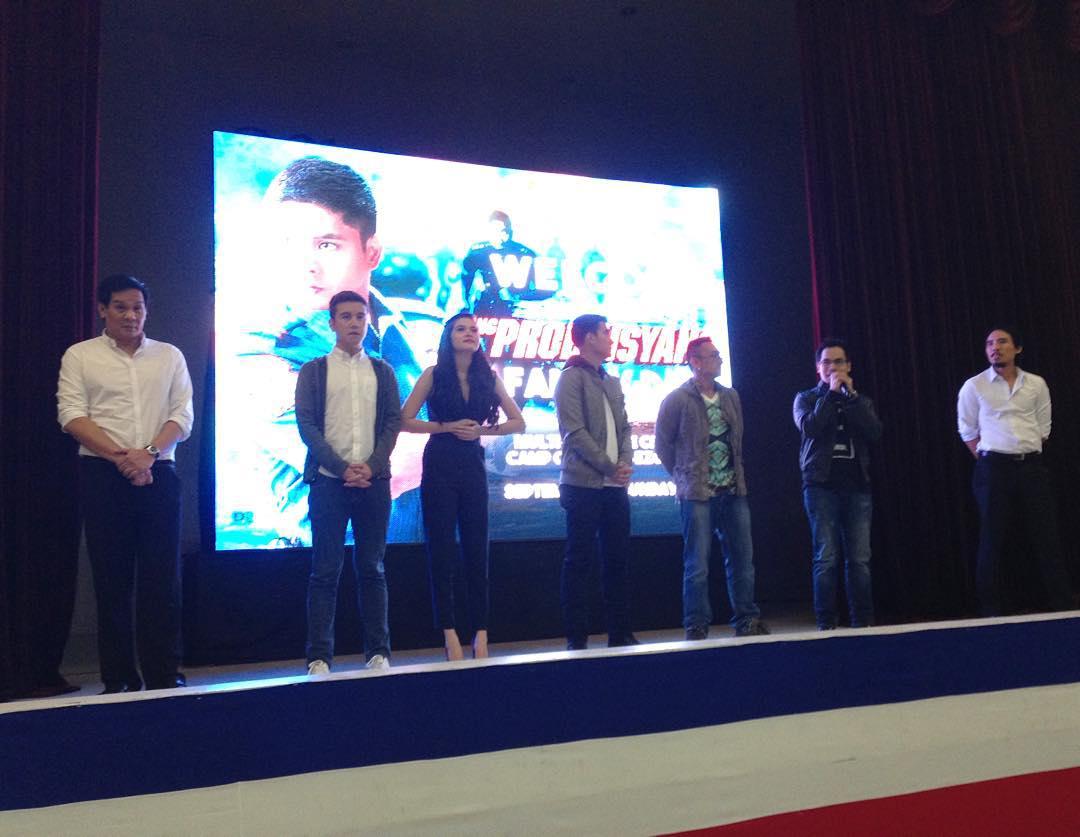 LOOK: Primetime King Coco Martin, nakipag-bonding sa kapulisan at mga pamilya nito sa #FPJsAngProbinsyano PNP Family Day