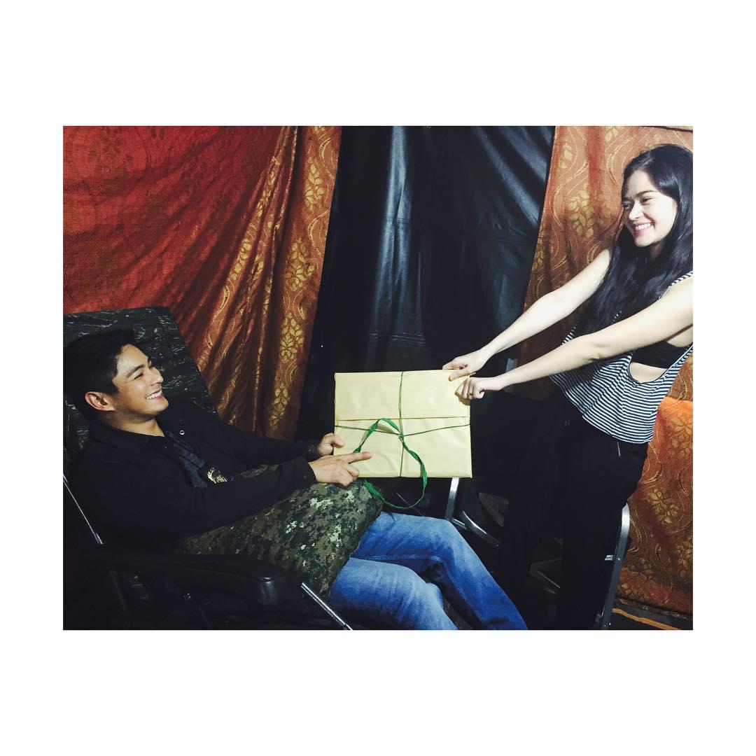 BEHIND-THE-SCENES: Bonding moments nina Coco at Bela sa set ng Ang Probinsyano
