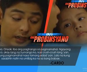 Mga pangaral ni Cardo kay Onyok sa FPJ's Ang Probinsyano