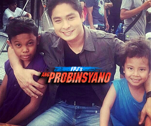 On the set of FPJ's Ang Probinsyano: Aura aka Makmak behind-the-camera