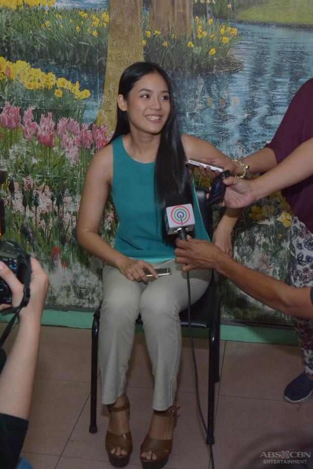LOOK: Newest Kapamilya Ritz Azul meets the press on the set of FPJ's Ang Probinsyano