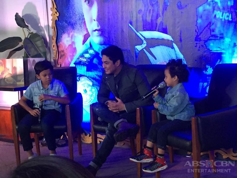 IN PHOTOS: Primetime King Coco Martin with Onyok and Aura at  FPJ's Ang Probinsyano Pasasalamat Presscon