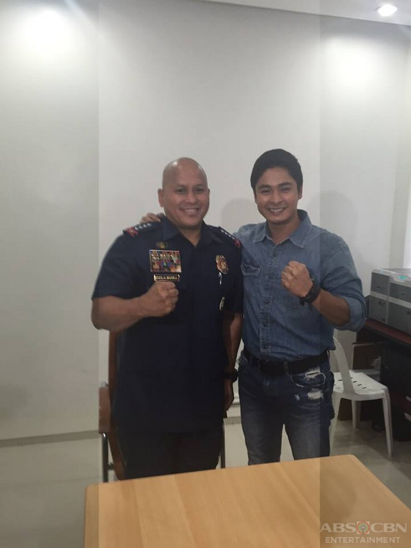 "LOOK: SPO1 Cardo Dalisay reports to PNP Chief General Ronald ""Bato"" Dela Rosa"