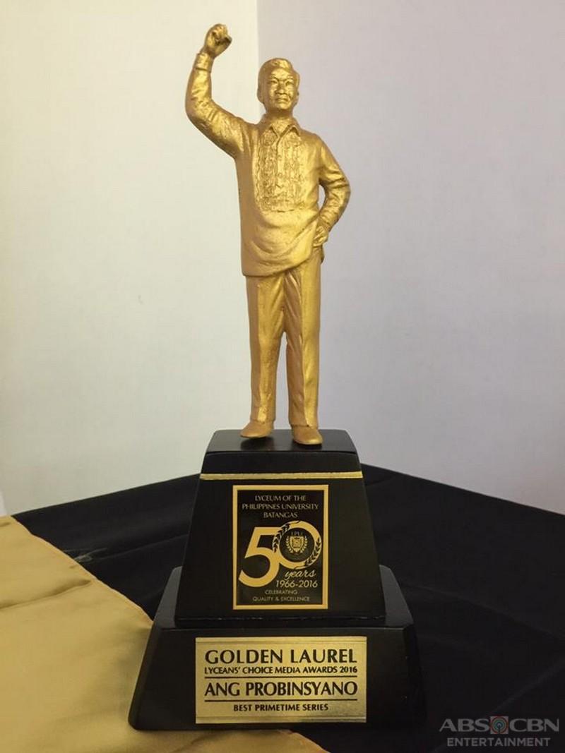 PHOTOS: FPJ's Ang Probinsyano wins big at the Lycean Choice Awards 2016