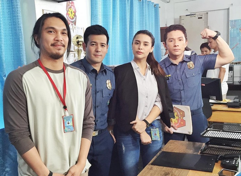 On the set of FPJ's Ang Probinsyano: Yassi Pressman as Alyana