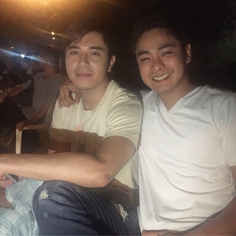 On the set of FPJ's Ang Probinsyano: Paulo Avelino bilang Eric