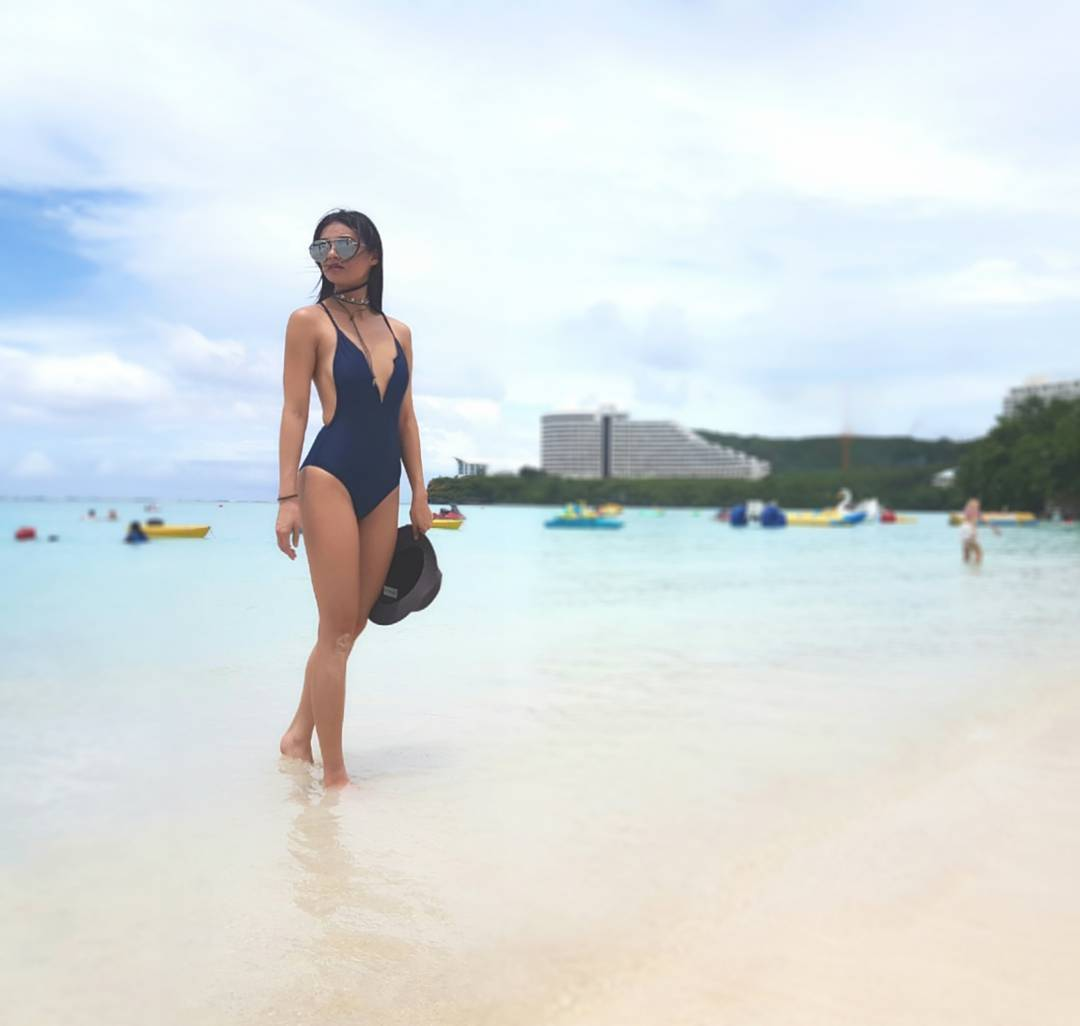LOOK: 27 photos of Sam Pinto rocking swimwear like a PRO!