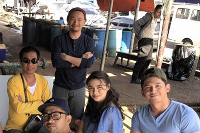 Behind-the-scenes: Ahron Villena and Ketchup in FPJ's Ang Probinsyano