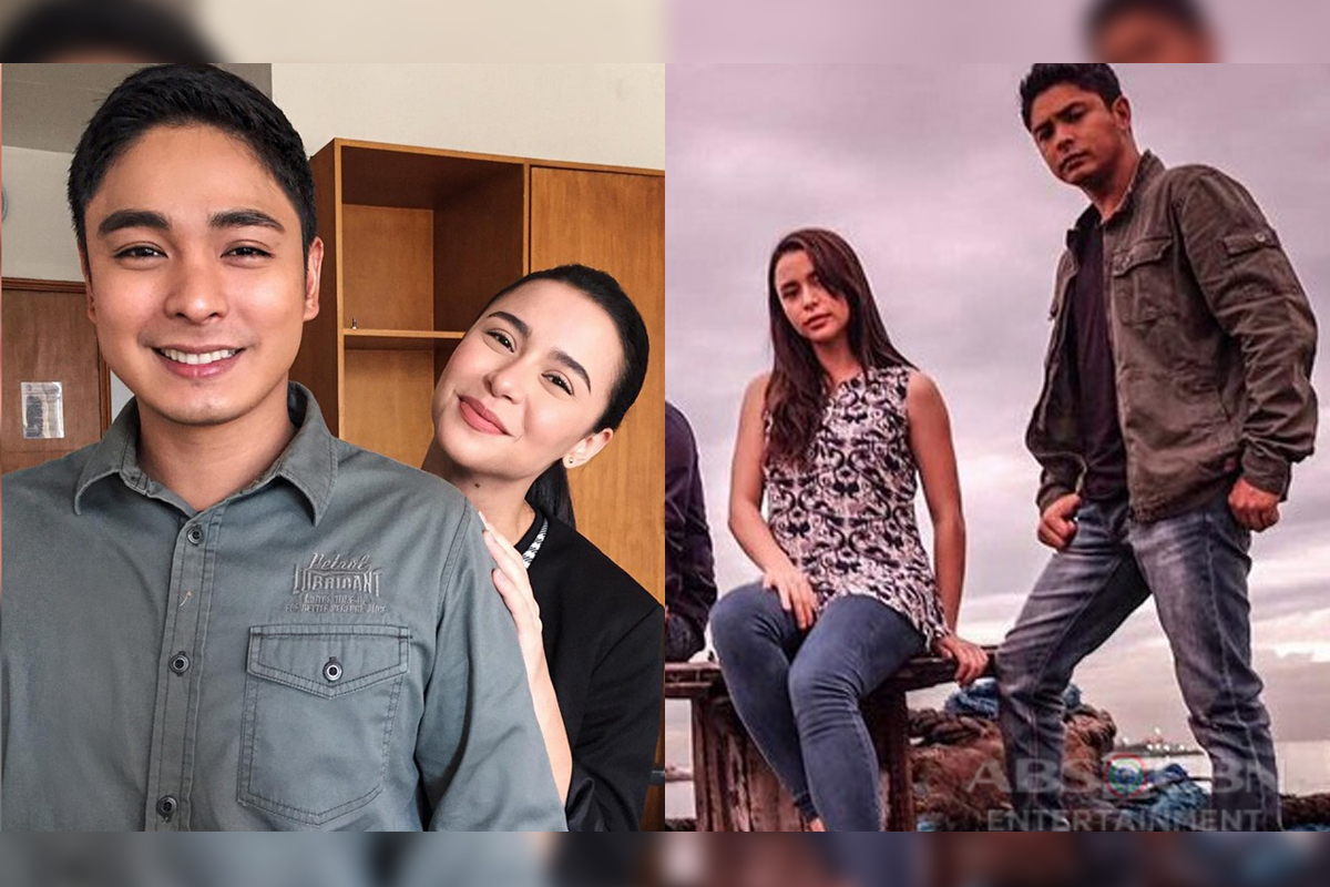 9 Photos Of Cardo And Alyana On The Set Of FPJ's Ang Probinsyano