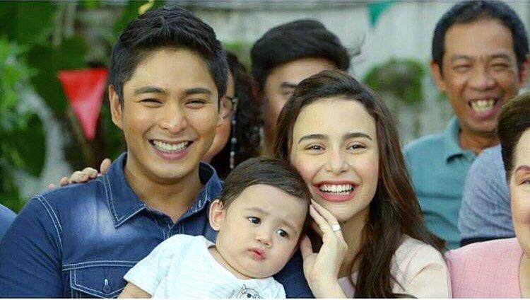 PHOTOS: Cardo and Alyana's Baby Ricky on the set of FPJ's Ang Probinsyano