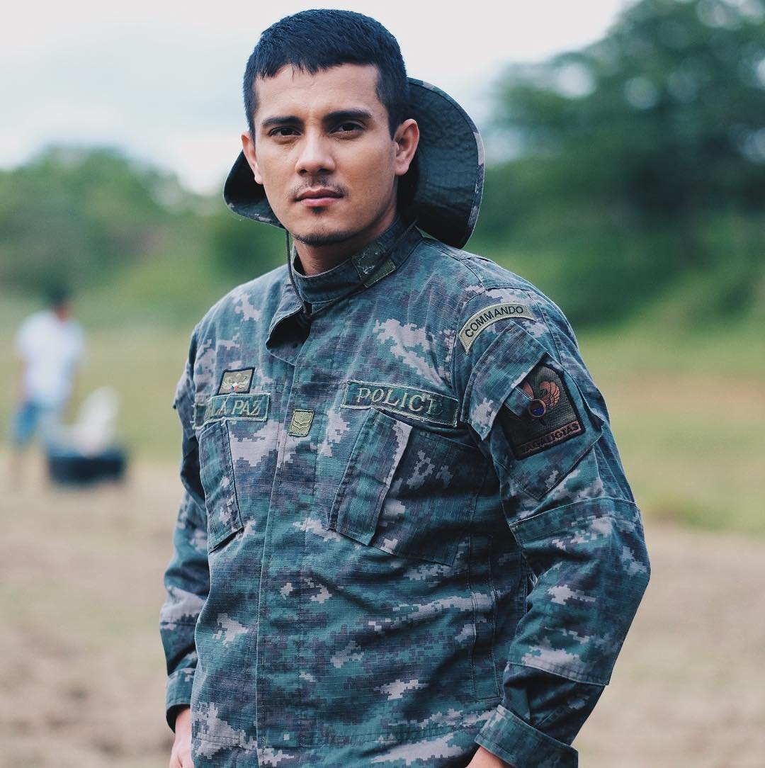 Behind-the-scenes: Ejay Falcon as SPO2 Geraldo dela Paz in FPJ's Ang Probinsyano