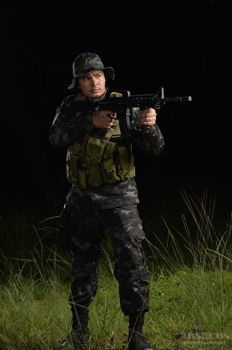 LOOK: Coco Martin in SAF Officer Uniform