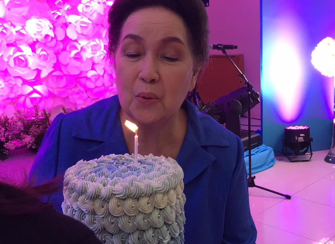 Susan Roces celebrates birthday with FPJ's Ang Probinsyano family