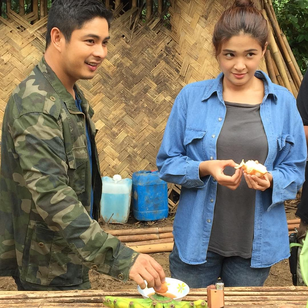 On the set of FPJ's Ang Probinsyano: Off cam bonding moments of Coco and Yam
