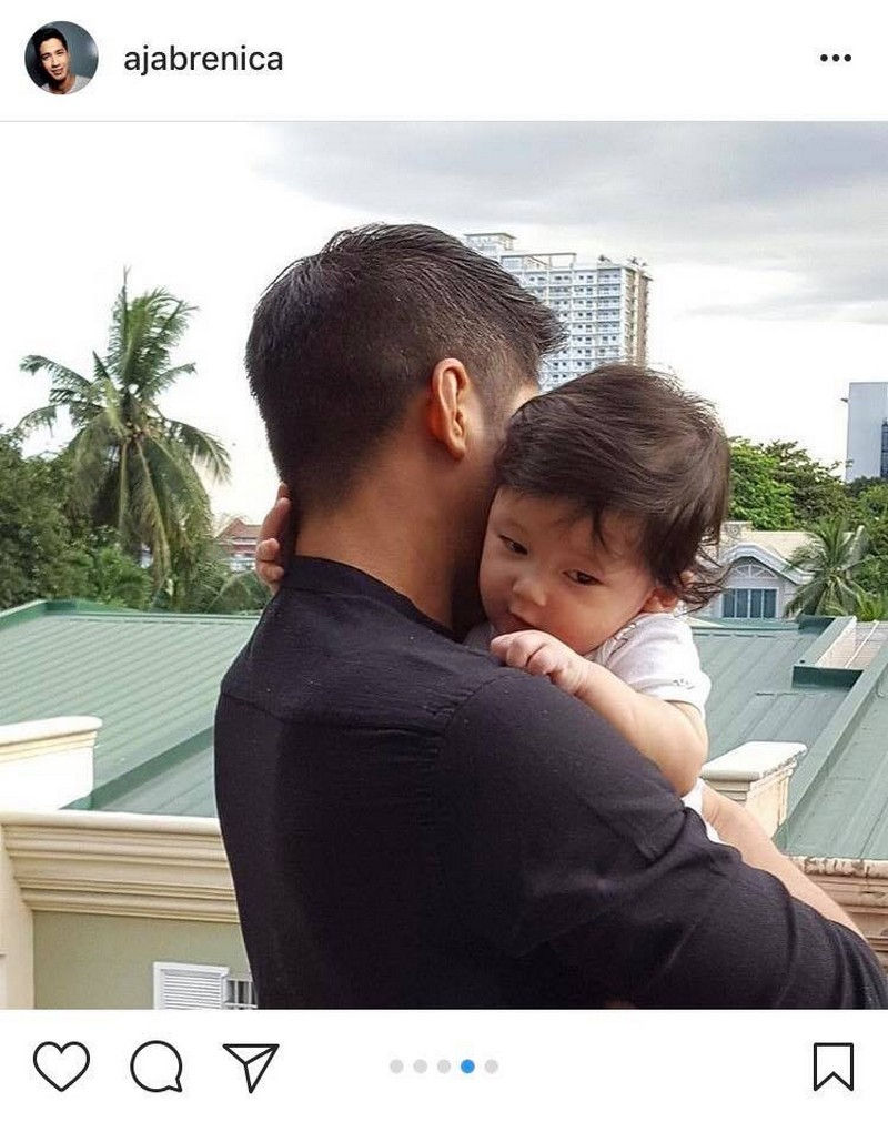 LOOK: Aljur Abrenica with his adorable little one!