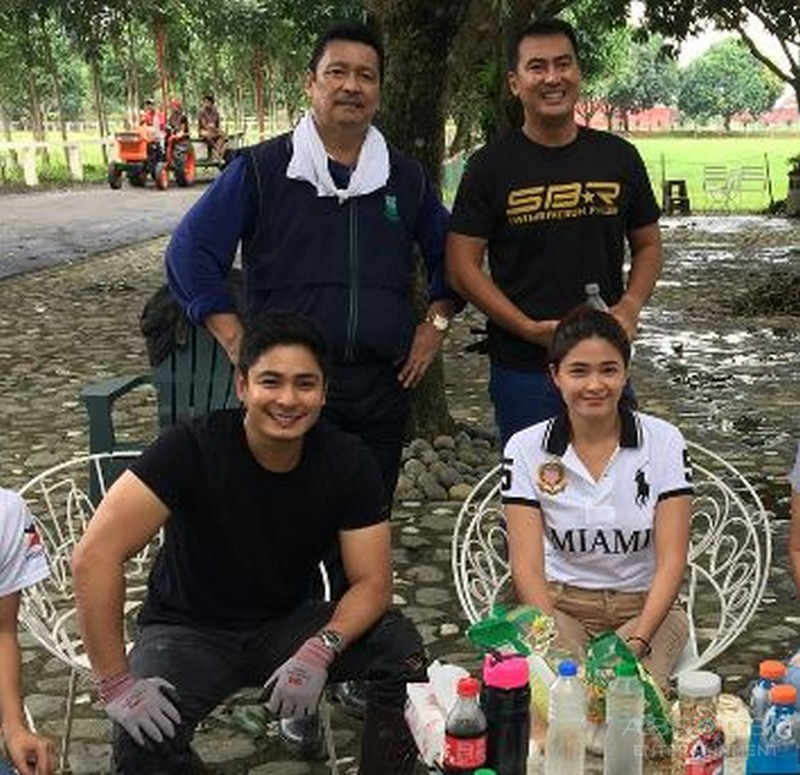 LOOK: Off cam bonding moments of Coco Martin with his Idol Lito Lapid