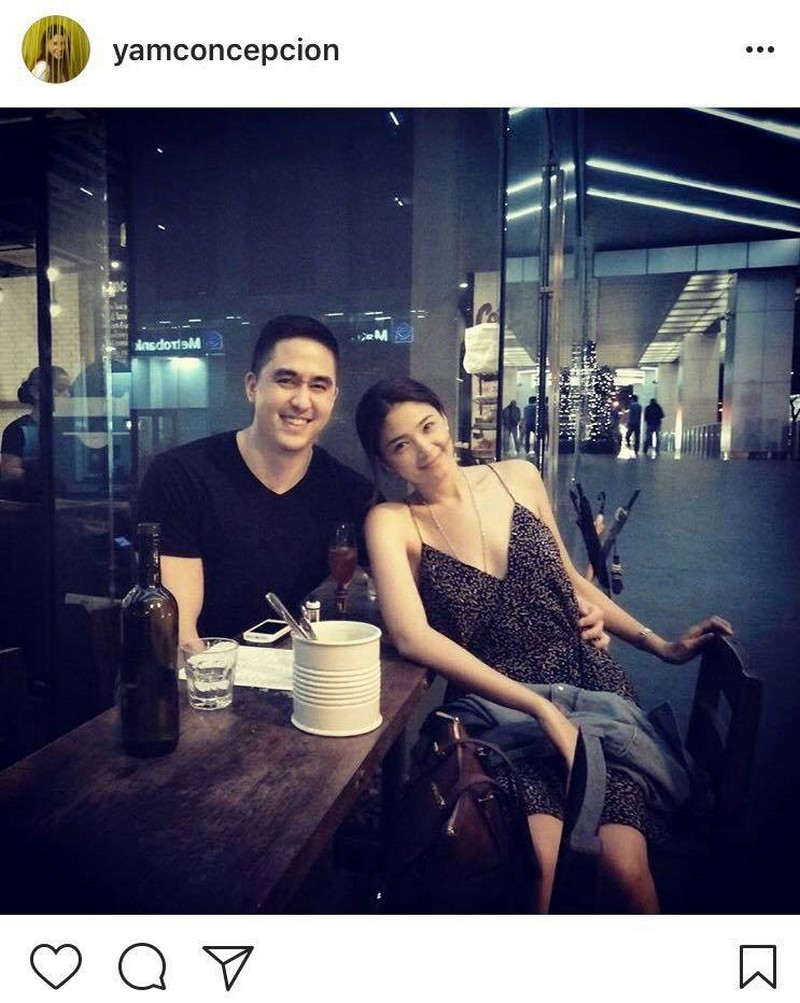 LOOK: Yam Concepcion with her non-showbiz boyfie!