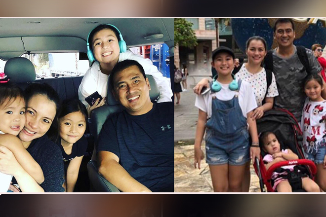The growing family of Mark & Tanya in these lovable photos