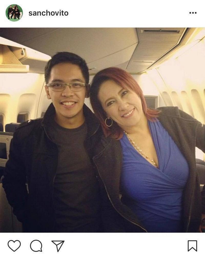 "IN PHOTOS: Sancho Delas Alas with his ""Tanging Ina"""