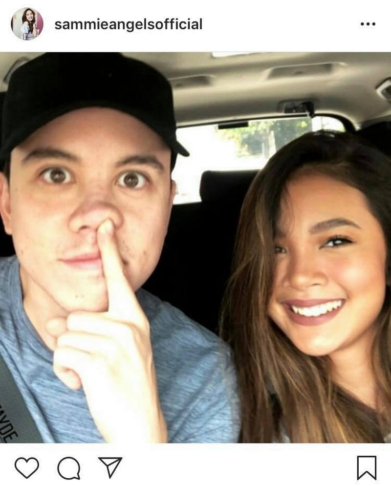 IN PHOTOS: Rare kilig moments of Sam Rimando with her Mr Dimples!