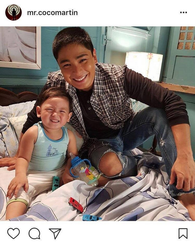 LOOK: Coco Martin's sweetest moments with Ricky Boy in 30 photos!