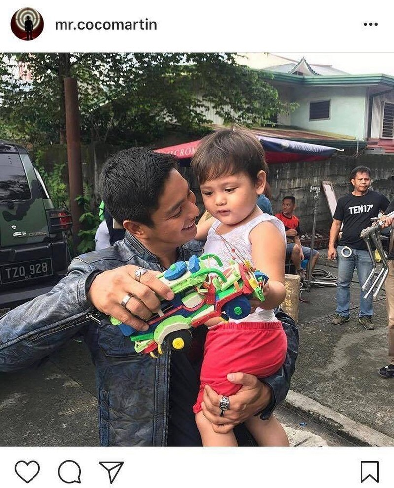 LOOK: 28 Times Coco Martin showed his love for his junior Cardo