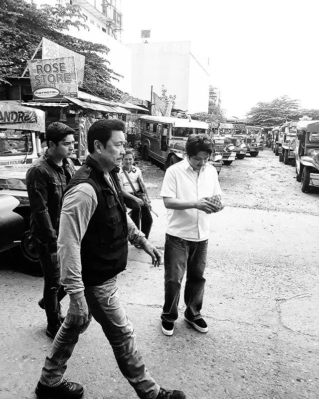 BEHIND-THE-SCENES: Janno and Angeline on the set of FPJ's Ang Probinsyano