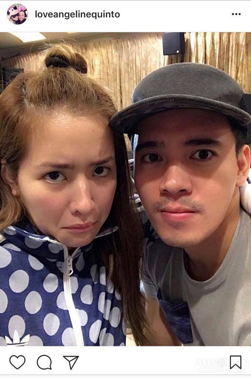"""LOOK: Angeline Quinto with her one and only """"Pogs"""""""